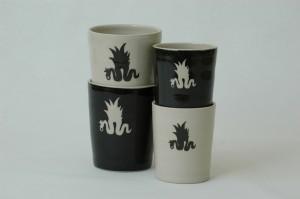 Keramik ido Stadt 2